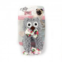 All for Paws Shabby Chic Charming Owl Dog Toy