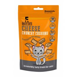 Rosewood Daily Eats Crunchy Cheese Cushions Cat Treats 60g