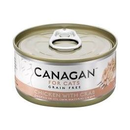 Canagan Chicken with Crab Wet Cat Food Tin 75g