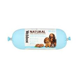 Webbox Natural Sausage with Lamb and Chicken Dog Food 300g