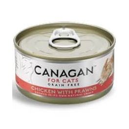 Canagan Chicken with Prawns Wet Cat Food Tin 75g