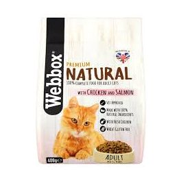Webbox Premium Natural Adult Cat Food with Chicken and Salmon