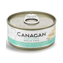 Canagan Chicken with Sardine Wet Cat Food Tin 75g