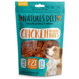 Natures Deli Chicken Training Bites Dog Treats 100g