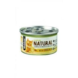 Webbox Premium Natural Mousse Cat Food with Chicken 85g Tin