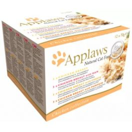 Applaws Chicken Multi Pack Cat Food Tins 12x70g