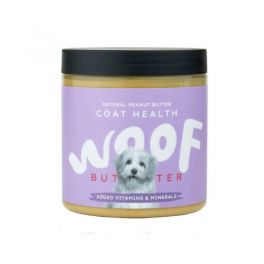 Woof Butter Coat Health Peanut Butter For Dogs 250g