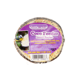 Suet To Go Coco Feeder Insect Recipe Wild Bird Treats
