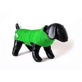 Doodlebone Green/Orange Combi-Puffer Dog Jacket