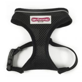 Ancol Black Comfort Mesh Dog Harness