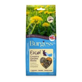Burgess Excel Country Garden Herbs Small Animal Treats 120g