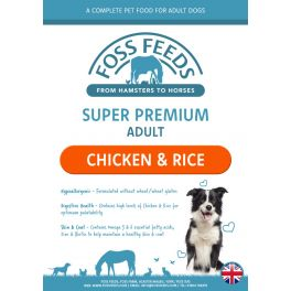 Foss Feeds Sample - Super Premium Chicken with Rice Dog Food 100g