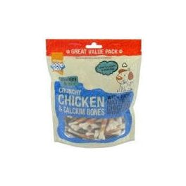 Good Boy Crunchy Chicken and Calcium Bones Dog Treats 350g
