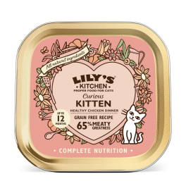 Lily's Kitchen Curious Kitten Wet Cat Food Tray 85g