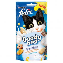 Felix Cat Treats Goody Bag Dairy Delicious 60g