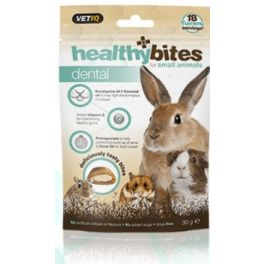 VetIQ Healthy Bites Dental Treats For Small Animals 30g