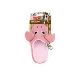 All For Paws Doggie's Pig Slipper Dog Toy