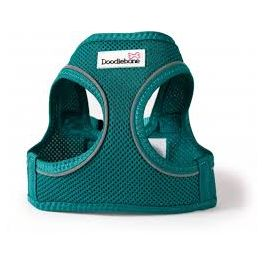 Doodlebone Teal Airmesh Snappy Dog Harness