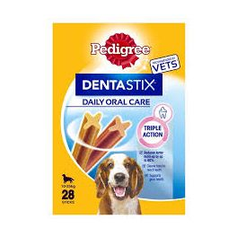 Pedigree Dentastix Dog Treats 28 sticks for Medium Dogs (10-25kg)