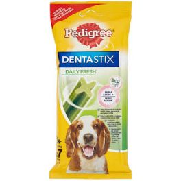 Pedigree Dentastix Daily Fresh Dog Treats 7 Sticks for Medium Dogs