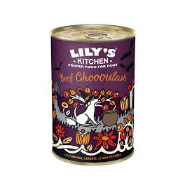 Lily's Kitchen Halloween Beef Ghoooulash Dog Food Tin 400g