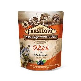 Carnilove Ostrich with Blackberries Dog Food Pouch 300g