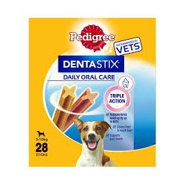 Pedigree Dentastix Dog Treats 28 sticks for Small Dogs (5-10kg)