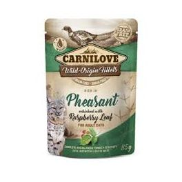 Carnilove Pheasant with Raspberry Leaf in Gravy Wet Cat Food Pouch 85g
