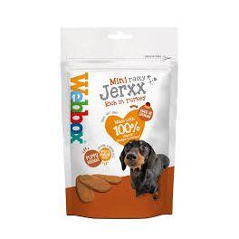 Webbox Mini Tasty Jerxx Rich in Tureky Dog Treat 60g