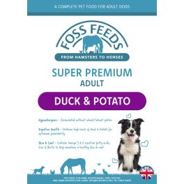 Foss Feeds Sample - Super Premium Duck with Potato Dog Food 100g