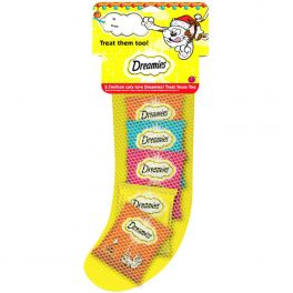 Dreamies Christmas Cat Stocking Cat Treats 150g