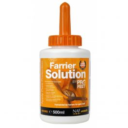 NAF Pro Feet Farrier Solution Horse Hoof Care Supplement 500ml