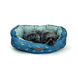 FatFace Flying Birds Deluxe Slumber Dog Bed (4 Sizes Available)