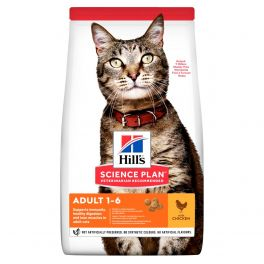 Hill's Science Plan Feline Adult Optimal Care with Chicken Cat Food