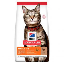 Hill's Feline Adult Optimal Care with Lamb Cat Food