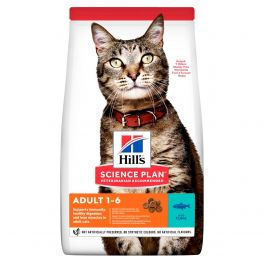 Hill's Science Plan Feline Adult Optimal Care with Tuna Cat Food