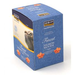 Fish4Cats Finest Salmon Mousse Cat Food 6x100g