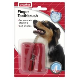 Beaphar Finger Toothbrush for Dogs x2