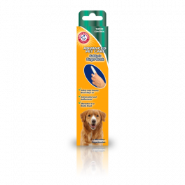 Arm & Hammer Advanced Care Safelock Finger Brush for Dogs x2