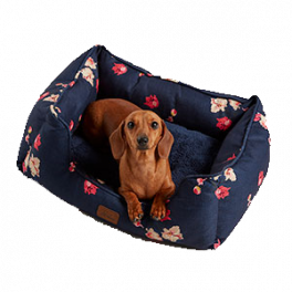 Joules Floral Square Pet Bed