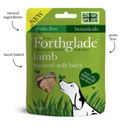 Forthglade Lamb Natural Soft Bites Grain Free Dog Treats 90g