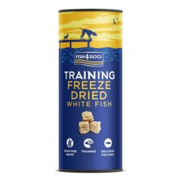 Fish4dogs Freeze Dried Dog Training Treats with White Fish 25g
