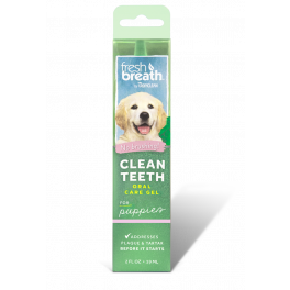 Tropiclean Fresh Breath Clean Teeth Oral Care Gel for Puppies 59ml
