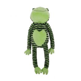 Rosewood Froggy Long Legs Soft Dog Toy