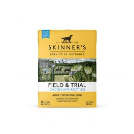 Skinner's Field And Trial Chicken And Root Veg Wet Dog Food 390g