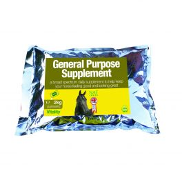 NAF General Purpose Horse Supplement Refill 2kg