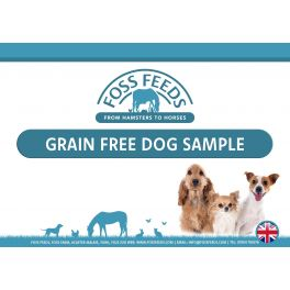 Foss Feeds Samples - Grain Free Adult Dog Food Multipack 6 x 100g