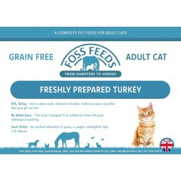 Foss Feeds Sample - Grain Free Turkey Cat Food 100g