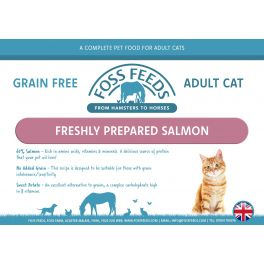 Foss Feeds Sample - Grain Free Salmon Cat Food 100g