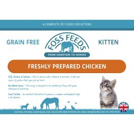 Foss Feeds Sample - Grain Free Chicken & Salmon Kitten Food 100g